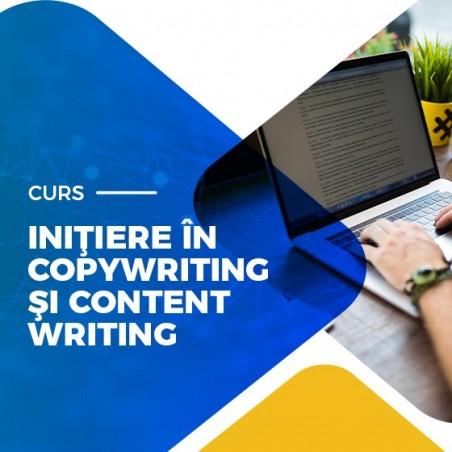 Curs Copywriting & Content Writing de Iniţiere