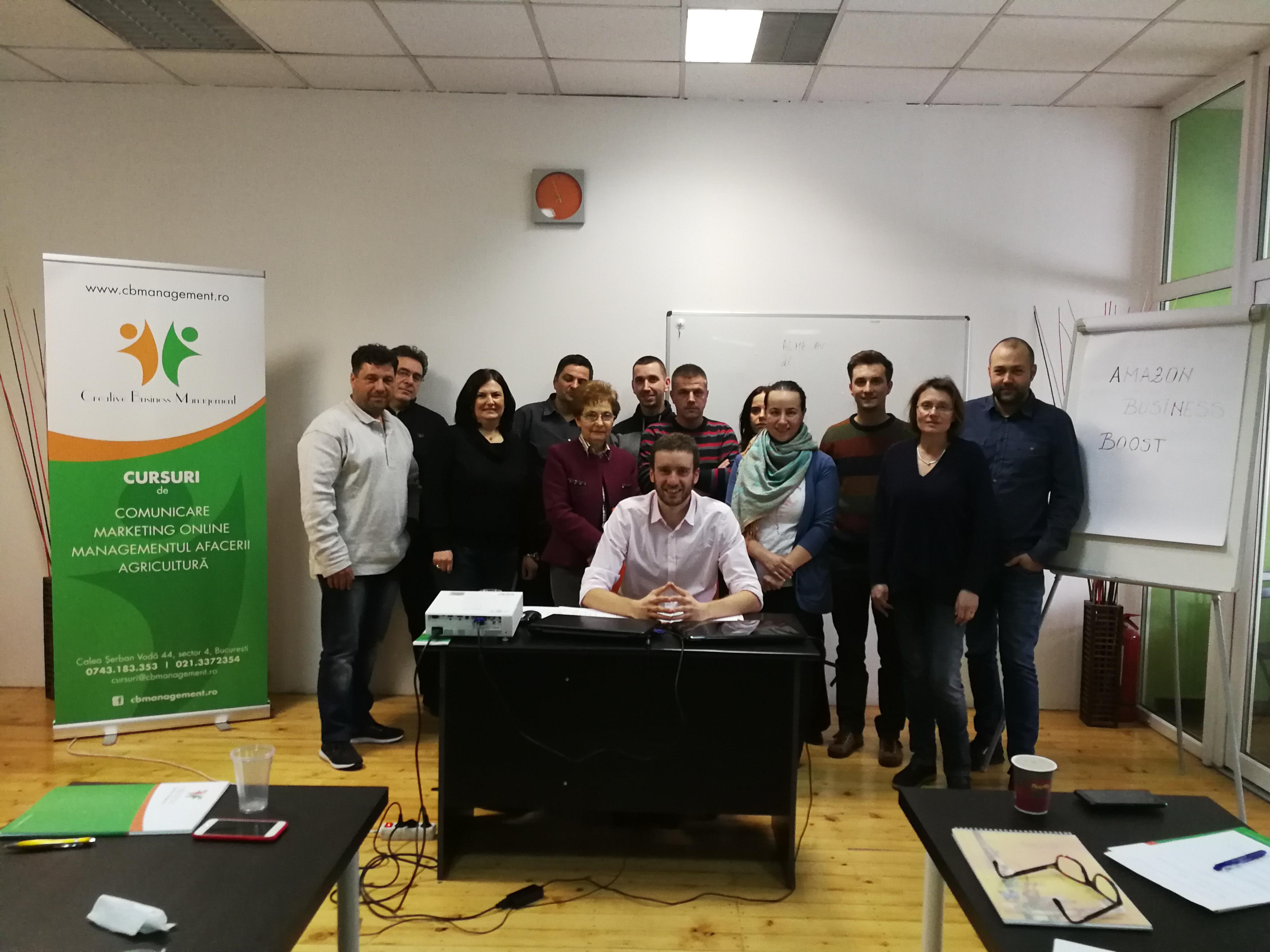 Cum poti incepe o afacere pe Amazon, experienta personala a trainerului Sergiu Nichitean
