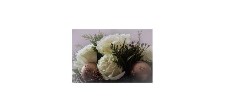 Cum creezi aranjamentele florale de Craciun
