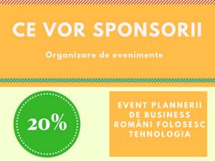 Ce vor sponsorii in evenimente? 78% dintre ei cer interactiune prin tehnologie