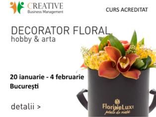 Designerii florali vor avea in 2018 cel mai complex program de training din industrie